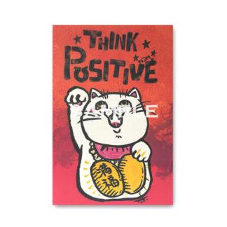 ポストカード ミニキャンバスシリーズ 招き猫1