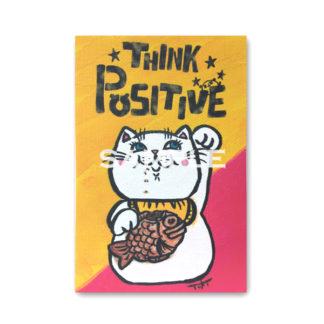 ポストカード ミニキャンバスシリーズ 招き猫3