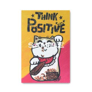 ポストカード ミニキャンバスシリーズ 招き猫4