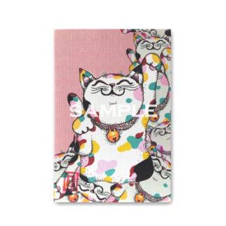 ポストカード 虹色猫2